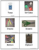school vocabulary picture cards 1
