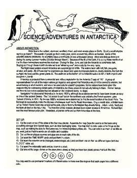 science adventures in Antarctica