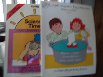 science experiments  science time        (set of 2)