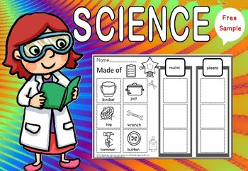 science- what's it made of(free sample)