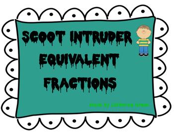 scoot intruder: equivalent fractions