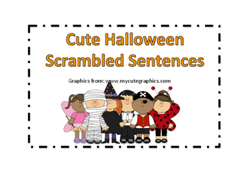 scrambled sentences
