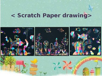 scratch paper drawing
