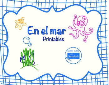 Sea Creatures game Spanish (animales acuaticos)