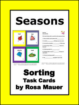 seasons Activity Pack