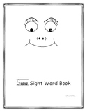 """""""see"""" sight word coloring book"""