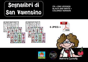 Segnalibri San Valentino 2018 - Valentine's bookmarks (ita + eng version)