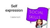self-expression activity - I Statement