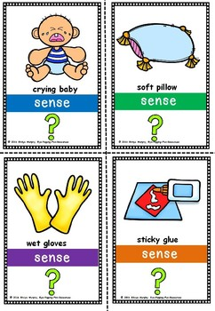 sense flash cards
