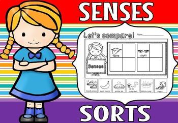 senses cut and paste