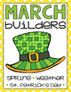 Sentence Builders {Printables!} March, April, May