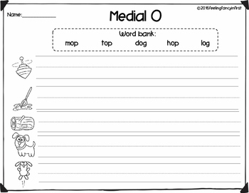 phonics writing