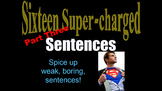 PART THREE Sentence Structure Powerpt. w/ Video Clips Grad