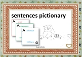 sentences pictionary - to use present continuous
