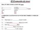 ser, tener, regular -ar, and dar/estar/ir conjugation quizzes