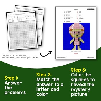 3-Digit Subtraction With Regrouping Word Problems, 2nd Grade Color Worksheets