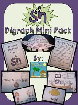 sh Digraph Mini Pack