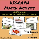 sh Digraph Picture/Word Matching Activity