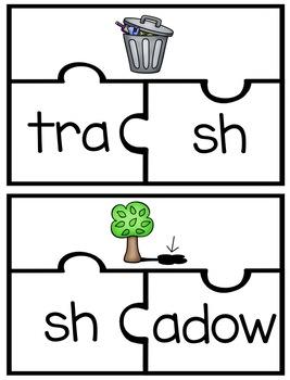 sh Digraph Word Work Activities