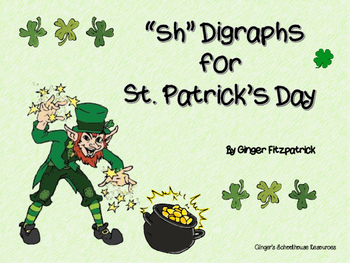 sh Digraphs for St. Patrick's Day Board Game