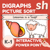 sh Digraph Picture Sort in a Snap
