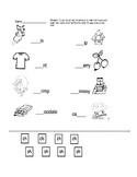 sh and ch worksheet