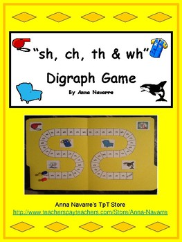 """sh, ch, th, and wh"" Digraph Game"