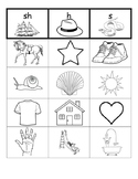 Digraph Picture Sort {sh, h, s}