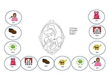 sh princess homework sheet