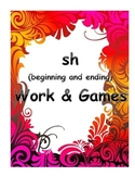sh word work and games