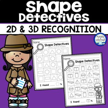 Shape Detectives {2D & 3D Searches}