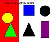 shape match using activity builder