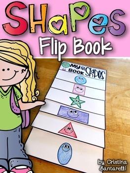 shapes flip book