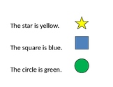 shapes and colors interactive pages
