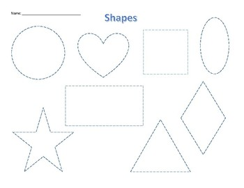 shapes and colours worksheet and delivery sequence 2-6 yrs