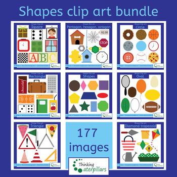 shapes bundle (2D objects)