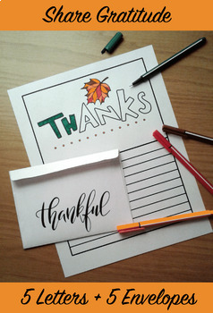Share Gratitude Stationery Pack