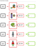 shopping maths