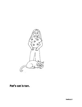short a reader - Pat and the Cat