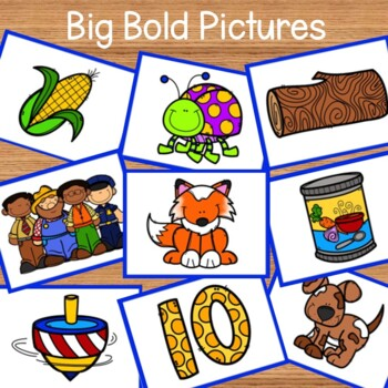 short o - Phonemic Picture Sort Activity and Printables