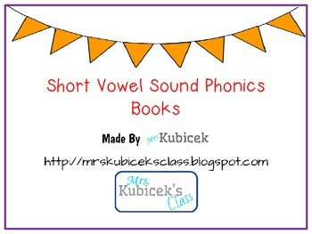 short vowel phonics books