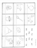 short vowel worksheet short o