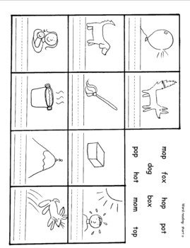 short vowel worksheet short o