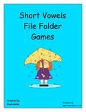 short vowels file folder games