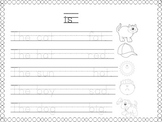 sight word IS printable