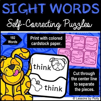 sight-word-puzzles {first 192 words}