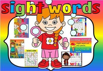 sight word endless bundle