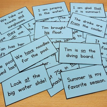 fun with sight word games