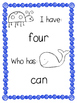 sight word game: I have, who has