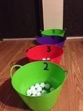 sight word ping pong